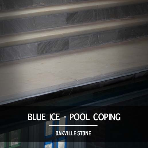 Blue Ice Pool Coping