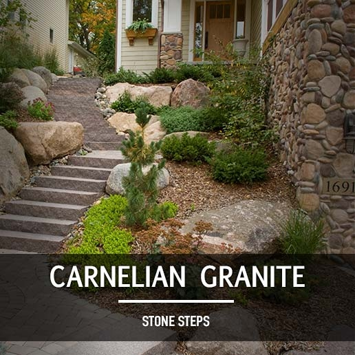 Natural Stone Steps Landscape Supply In Minnesota