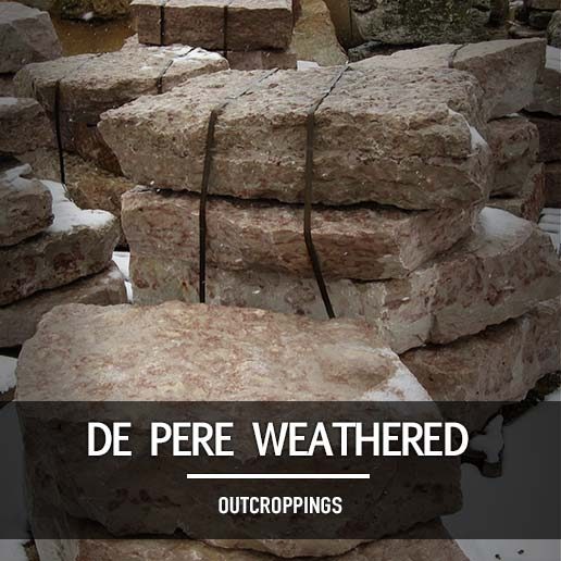 De Pere Weathered Outcroppings
