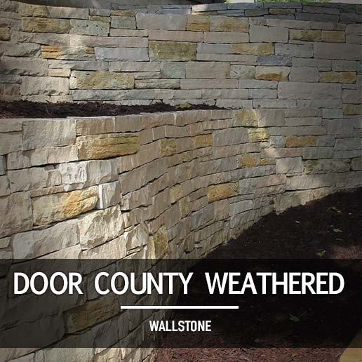 Door County Weathered Wallstone