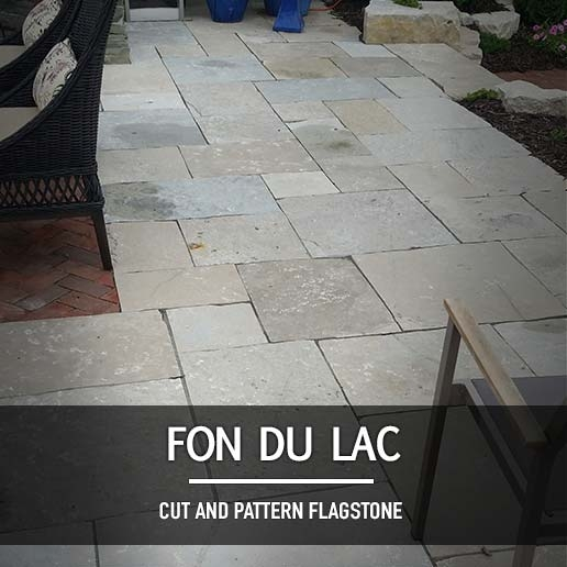 Fond Du Lac Cut and Patterned Flagstone