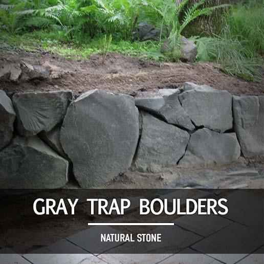 gray trap boulders landscape supply in minnesota minneapolis st