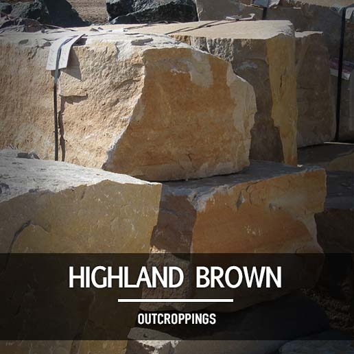 Highland Brown Outcroppings