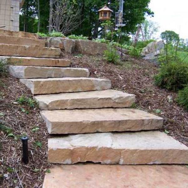 Highland Brown Steps - Rock Hard Landscape Supply - Highland Brown Steps Photo 375