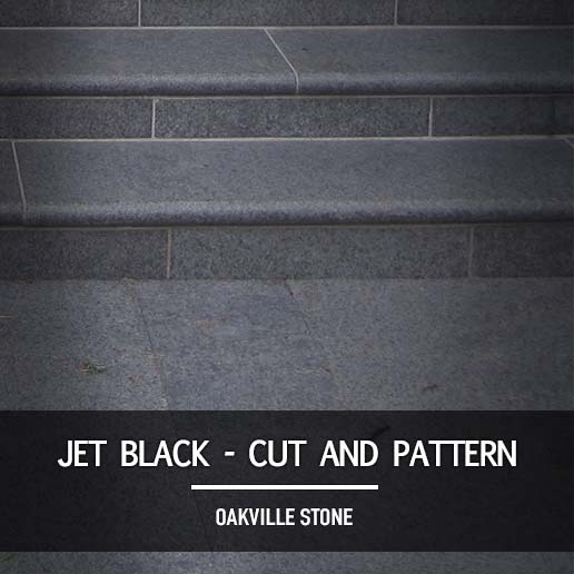 Jet Black Cut and Patterened