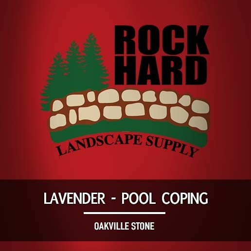 Lavender Pool Coping