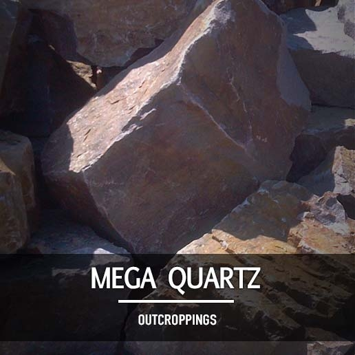 Mega Quartz Outcroppings