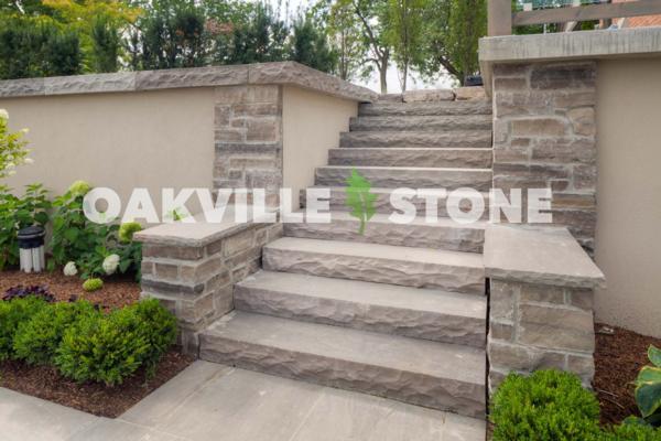 Rock Hard Landscape Supply Slate Grey Oakville Stone Photo 431