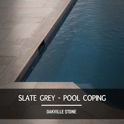 Slate Grey Pool Coping