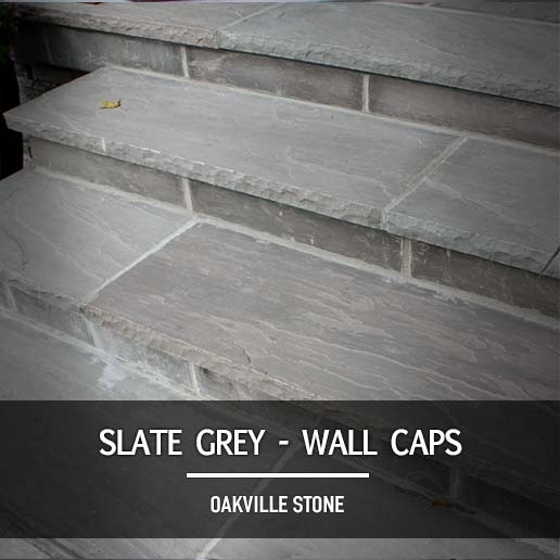 Slate Grey Wall Caps