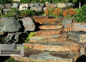 Iron Mountain Outcropping Steps